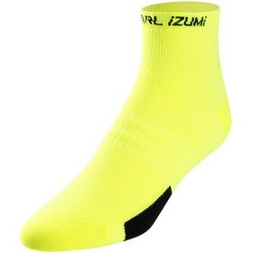 PEARL iZUMi Elite Lage Sokken Heren, pi core screaming yellow